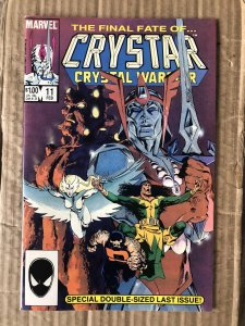 The Saga of Crystar, Crystal Warrior #11 (1985)