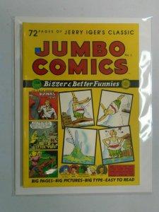 Jerry Iger's Classic Jumbo Comics SC #1 6.0 FN (1985 Blackthorne)