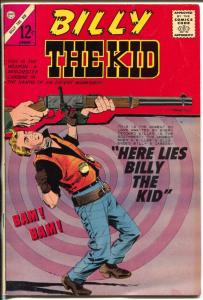 Billy The Kid #48 1965-Charlton-Death of Billy The Kid-VF
