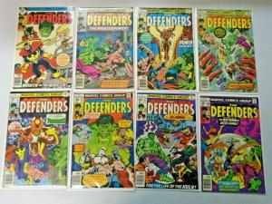 Late Bronze Age Defenders Comic Lot From:#51-86, Avg 5.0 Range 4.0-6.0 (1977-80)