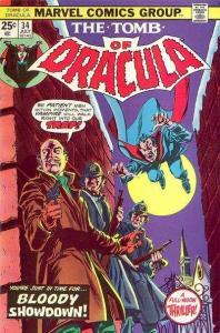 Tomb of Dracula (1972 series) #34, VF- (Stock photo)