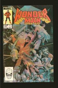 Marvel Comics Wonder Man Vol 1 No 1 March 1986