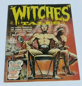 Witches Tales #1 VG/FN 1971 Eerie Horror Magazine Zombies The Strange Corpse
