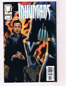 Inhumans #11 VF Marvel Knights Comic Book Lee Jenkins 1999 DE22