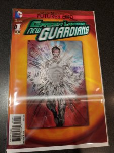 Green Lantern: New Guardians: Futures End # 1 3D Lenticular Motion Cover (DC)