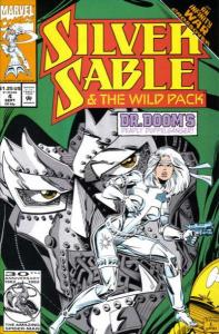 Silver Sable and the Wild Pack #4, NM (Stock photo)