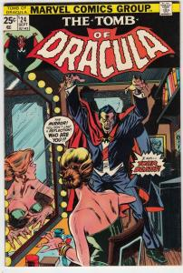 Tomb of Dracula #24 (Sep-74) VF+ High-Grade Dracula