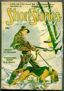 Short Stories Pulp February 10 1946- Kjelgaard- Seabury Quinn VG/F