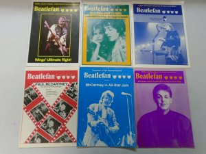 Beatlefan Magazine lot of 30 different Paul McCartney issues