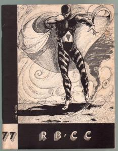 Rocket's Blast Comicollector #77 1971-Bruce Hamilton-David T Alexander-VG/FN