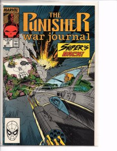 Marvel Comics (Vol. 1)  The Punisher War Journal #10 Jim Lee Art
