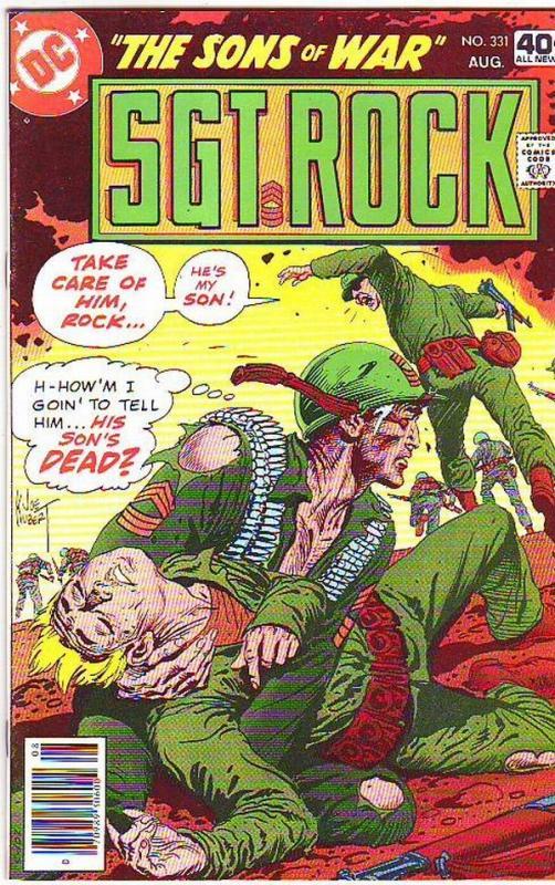 Sgt. Rock #331 (Aug-79) NM- High-Grade Sgt. Rock