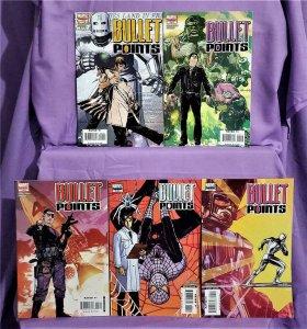 J. M. Straczynski BULLET POINTS #1 - 5 Tommy Lee Edwards (Marvel, 2007)
