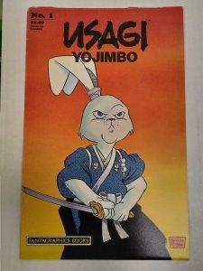 Sakai 1986 TMNT USAGI YOJIMBO #1 Fantagraphics Books, 2nd Print NICE SEE PICS!