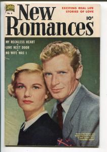 New Romances #6 1951-Barbara Bel Geddes-Richard Basehart-Ruben Moriera-FN