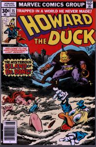 Howard the Duck #15 - 1st Series - 9.0 or Better - 1st Dr. Bong
