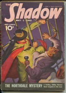 The Shadow 5/1/1942-The Northdale Mystery-pulp thrills-FN
