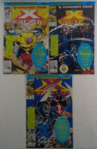 X-Factor #84 85 86 NM-/NM Sealed with Trading Cards Cable Apocalypse Marvel