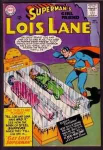 SUPERMAN'S GIRL FRIEND LOIS LANE #60 1965-DEEP FREEZE VG
