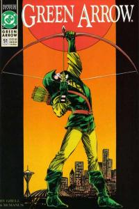 Green Arrow (1988 series) #51, NM- (Stock photo)