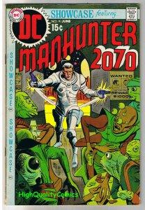SHOWCASE #91, FN+, ManHunter 2070 AD, Bounty Hunter, 1956, more in store