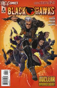 Blackhawks #4 VF/NM; DC | save on shipping - details inside