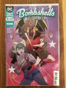 BOMBSHELLS UNITED #19, VF/NM, Zatanna, Constantine, 2018, more DC in store