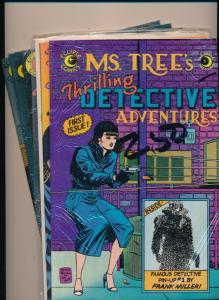 Eclipse Comics SET Ms. TREE #1-5 VERY FINE+  (HX799)