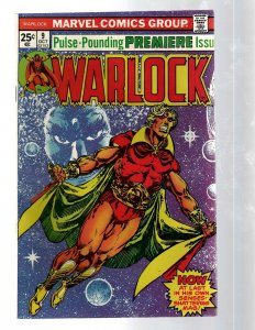 Warlock # 9 VF Marvel Comic Book Captain Marvel Thanos Avengers Hulk Thor RB8
