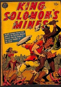 King Solomon's Mines #1 VG+ 4.5