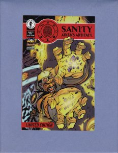 Sanity Aiken's Artifact Ashcan #00 VG Front/Back Cover Scans Dark Horse 2000