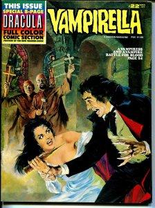 Vampirella #22 1973-Warren-bondage cover-horror issue-color insert-FN/VF