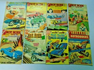 Silver Age Hot Rod Racers Wheels Comic Lot 24 Different Average 4.0 VG