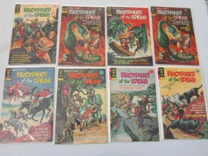 Brothers of the Spear 13 Different Books 4.0 VG