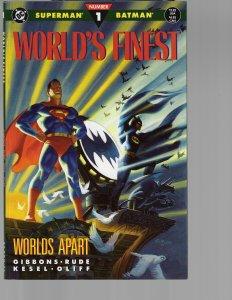 World's Finest #1 (DC, 1990) Prestige Format