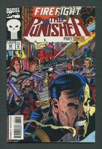 Punisher #83 / 9.0 VFN/NM Newsstand  October 1993