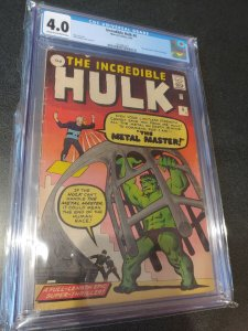 THE INCREDIBLE HULK #6 CGC 4.0