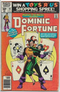Marvel Premiere   #56 GD Dominic Fortune