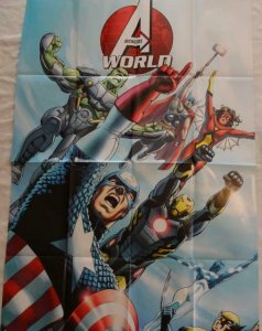 AVENGERS WORLD Promo Poster, 24 x 36, 2013, MARVEL, Unused more in our store 282
