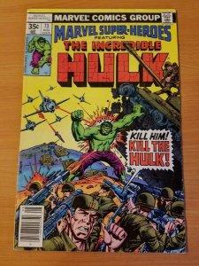 Marvel Super-Heroes #73 ~ VERY FINE VF ~ (1978, Marvel Comics)