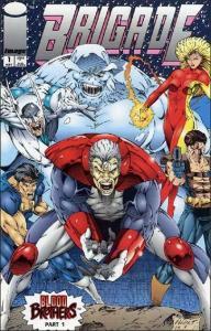 Image BRIGADE (1993 Series) #1 NM-