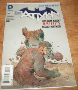 New 52 Batman #20 Batman vs Bruce Wayne NM
