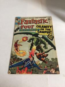 Fantastic Four 35 Vg/Fn Very Good/Fine 5.0 Marvel Comics Silver Age
