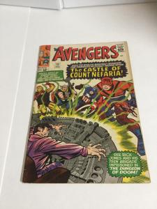 Avengers 13 Vg+ Very Good+ 4.5 Marvel Comics Silver Age