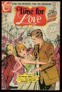 TIME FOR LOVE #21 1971-CHARLTON COMICS-ROMANCE SWIMSUIT VG