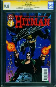 Hitman #1 1996 CGC SS 9.8-Garth Ennis-John Mccrea-1049602001