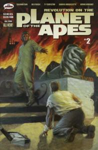 Revolution on the Planet of the Apes #2 VF/NM; Mr. Comics | save on shipping - d