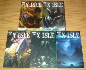 X Isle #1-5 VF/NM complete series - boom studios - andrew cosby - sci fi mystery
