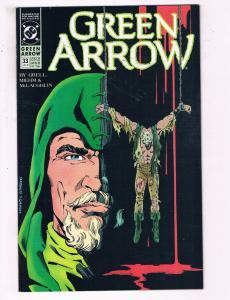Green Arrow #33 VF DC Comics Arrow TV Show Comic Book Grell DE21
