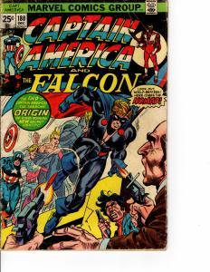 KEY ISSUE MARVEL Captain America (1968 Series) #180 DEC 1974 VG+
